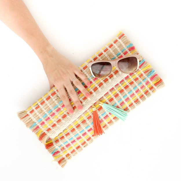Placemat clutch by Kailo Chic