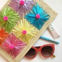 DIY placemat purse by Jennifer Perkins