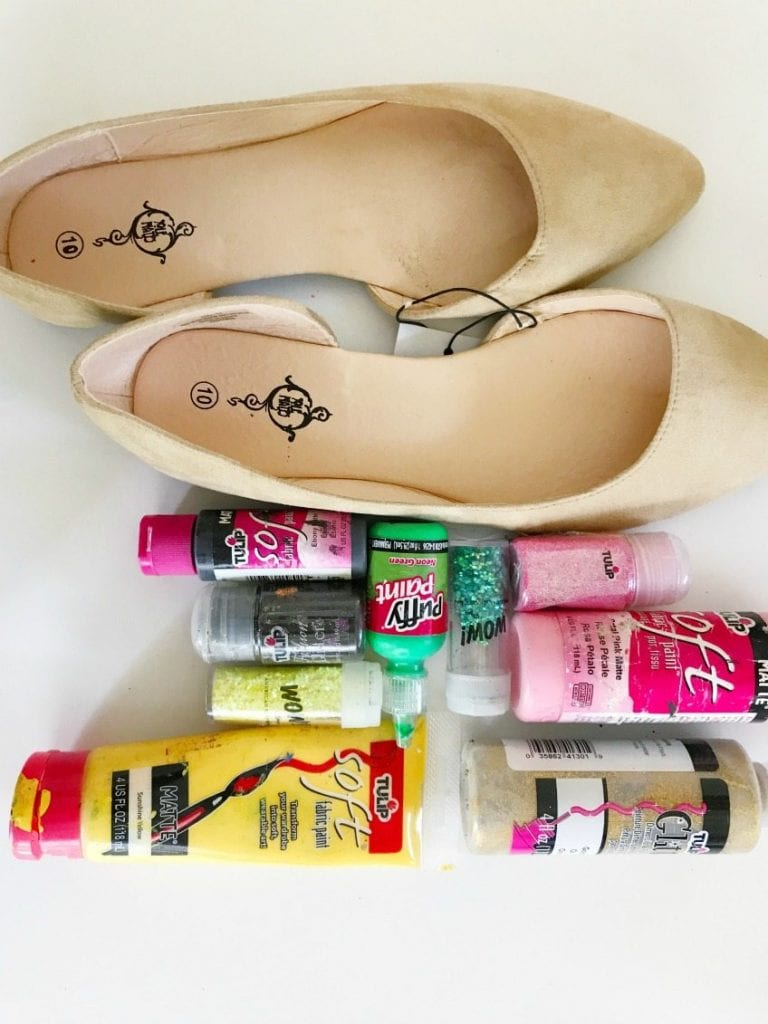 How to make DIY shoes that look like a Number 2 Pencil by Jennifer Perkins for HGTV