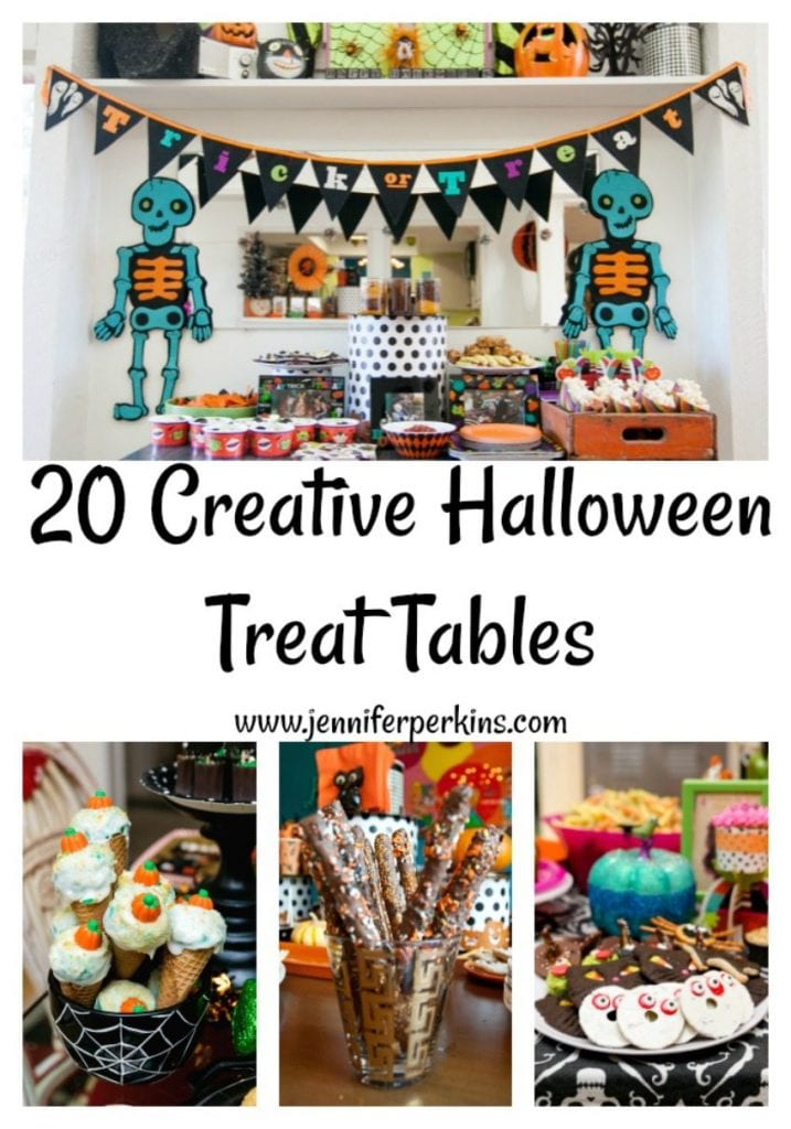 20 Creative Halloween Treat Tables by Jennifer Perkins