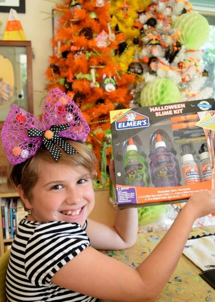 Elmer's Halloween Slime kit.