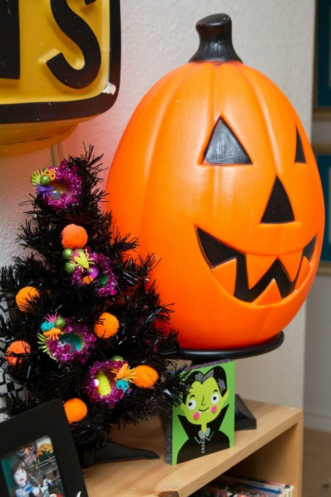 DIY Halloween ornaments made from recycled Play-Doh containers by Jennifer Perkins