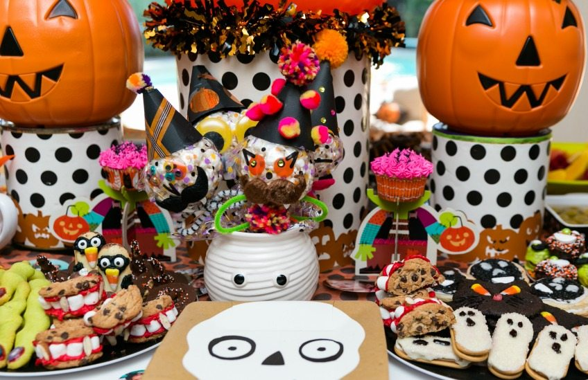 Halloween party food by Jennifer Perkins