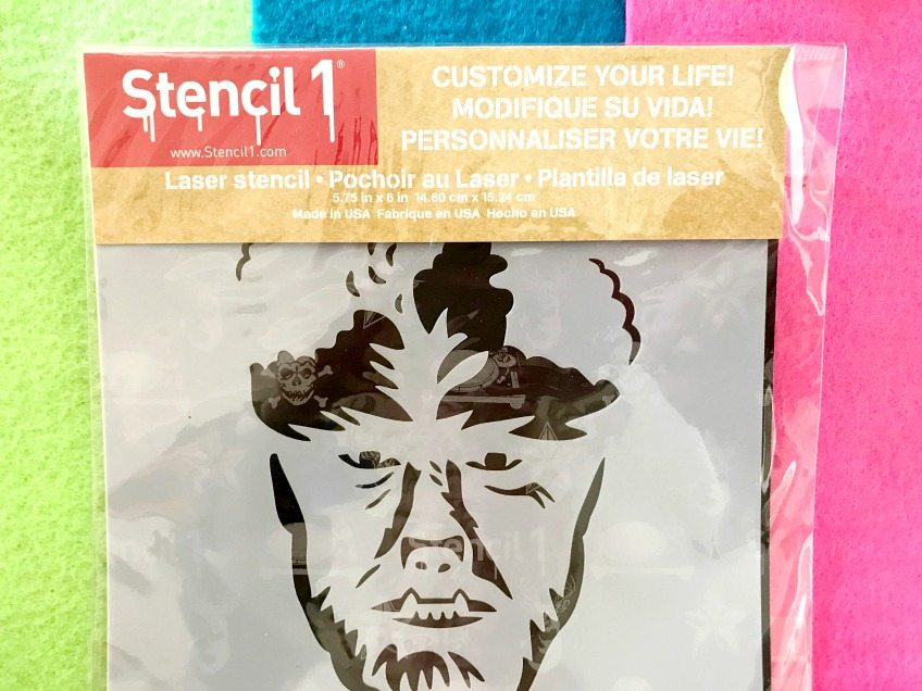Classic monster stencils by Stencil1