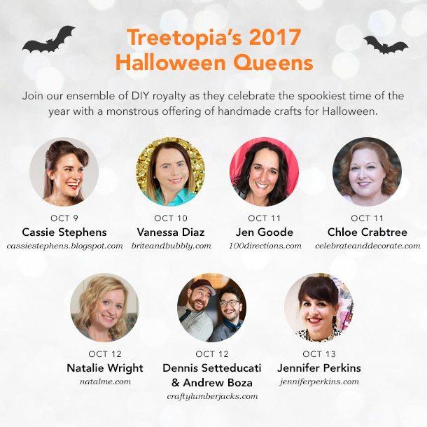 Halloween Scream Queens Blog Hop for Treetopia