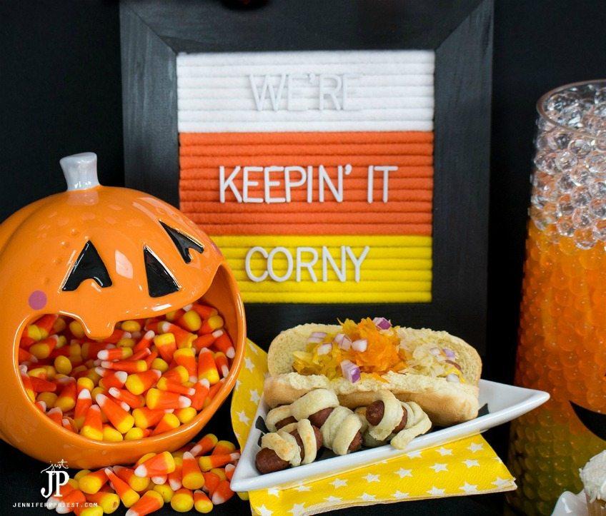 Candy Corn Felt Board by Jennifer Priest