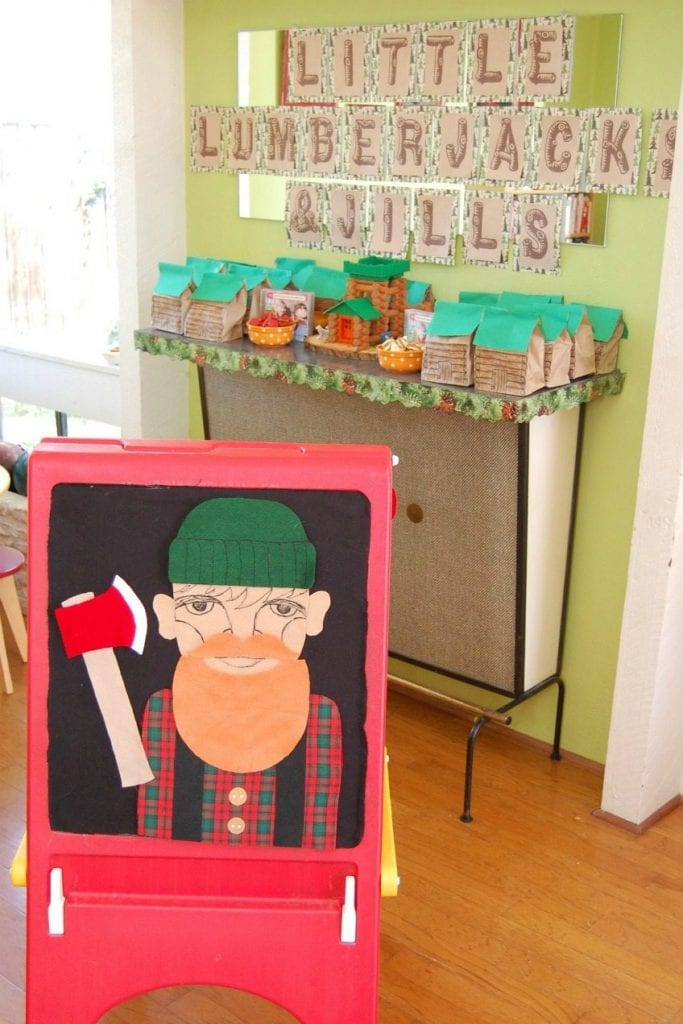 Hosting a lumberjack themed party for kids by Jennifer Perkins