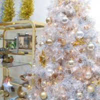 Quick and easy ways to turn your Christmas tree into a New Year's Eve tree by Jennifer Perkins
