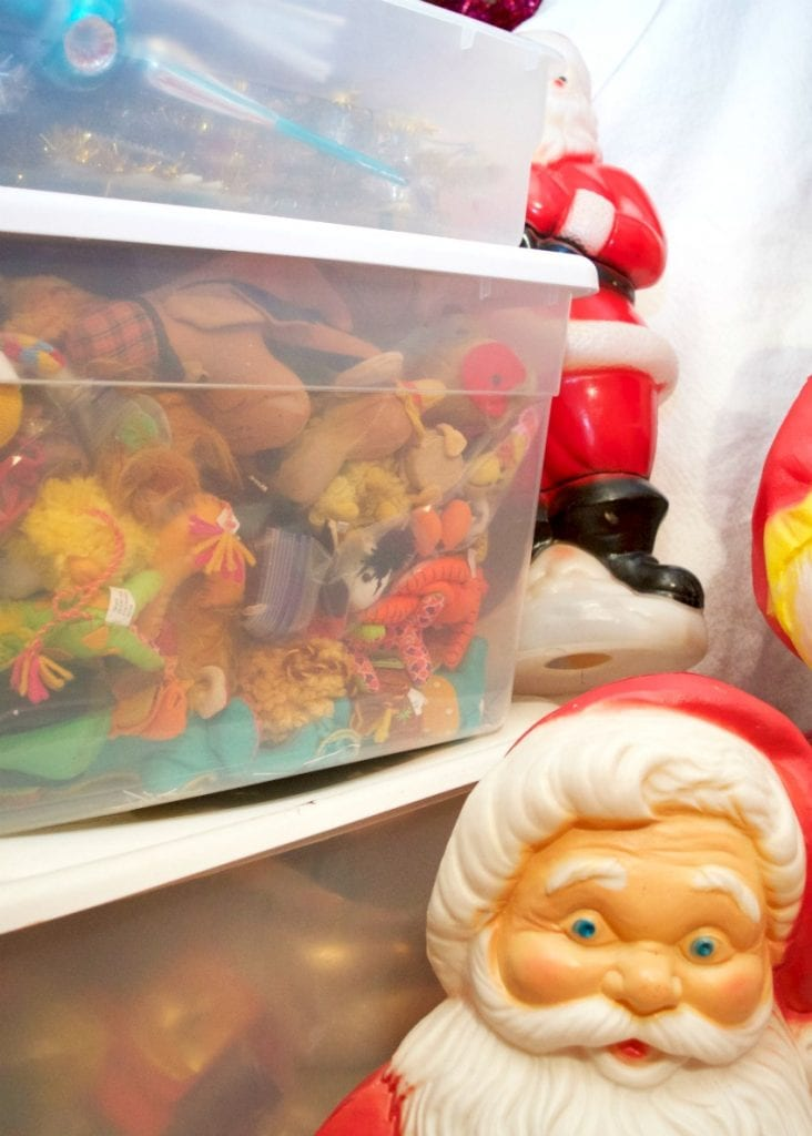 How do you store your Christmas decorations by Jennifer Perkins