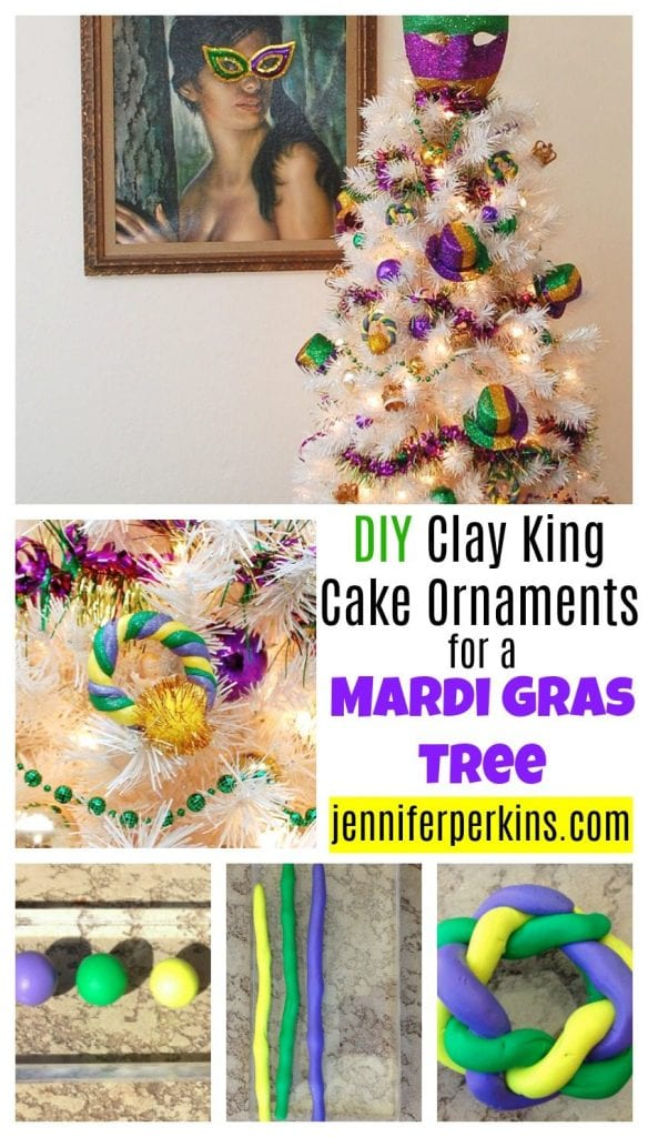 King Cake Ornaments Perfect For Your Mardi Gras Tree