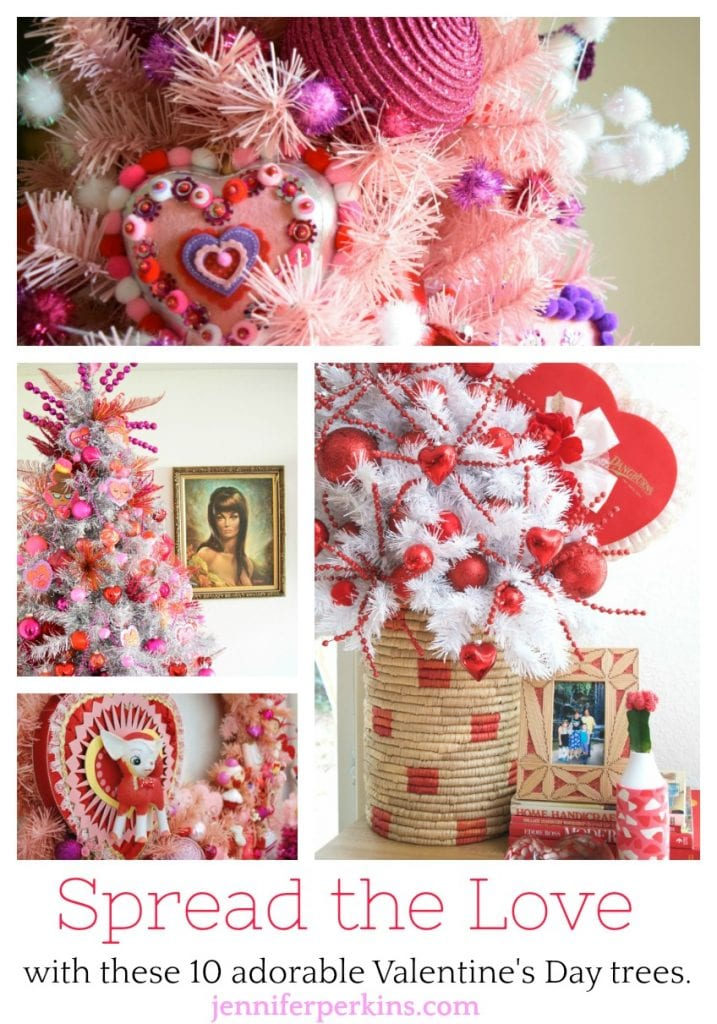 10 Adorable Valentine's Day trees by Jennifer Perkins