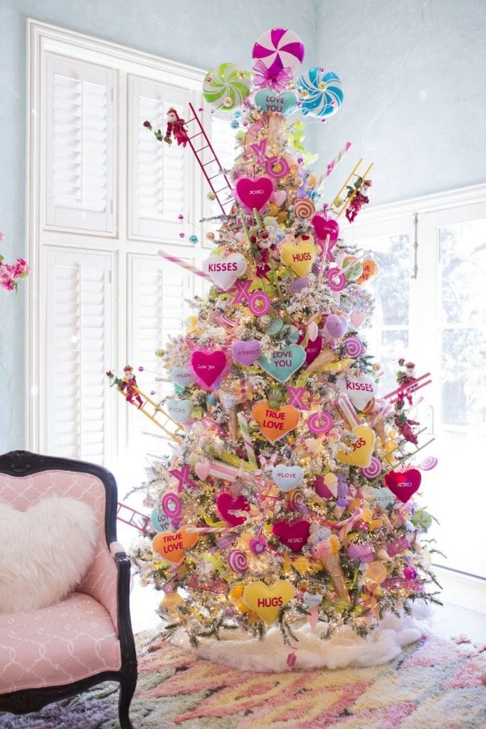 10 Valentine's Day Trees: Add Valentine's Day decor to any room with these amazing trees. Click through for the full list. | www.jenniferperkins.com