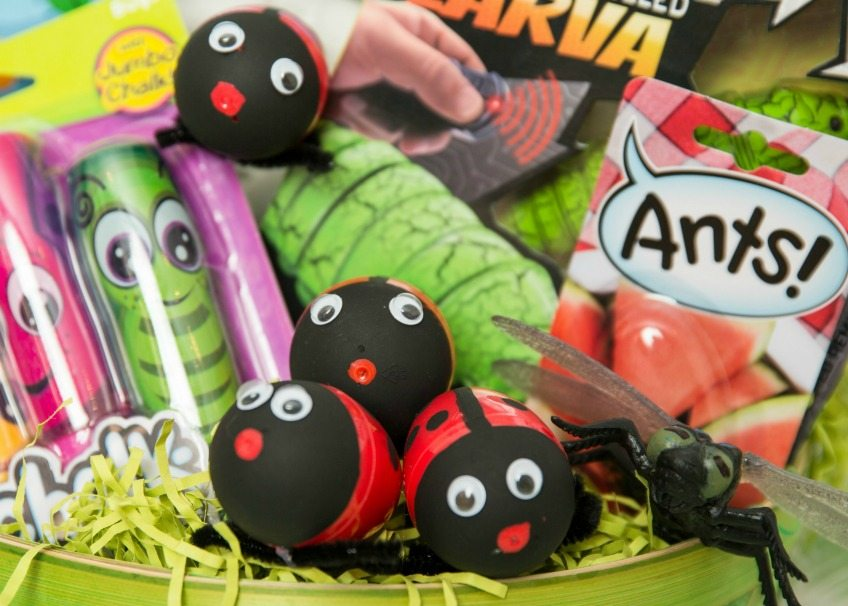How to make ladybug Easter eggs by Jennifer Perkins