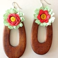 DIY Quilled Paper Jewelry