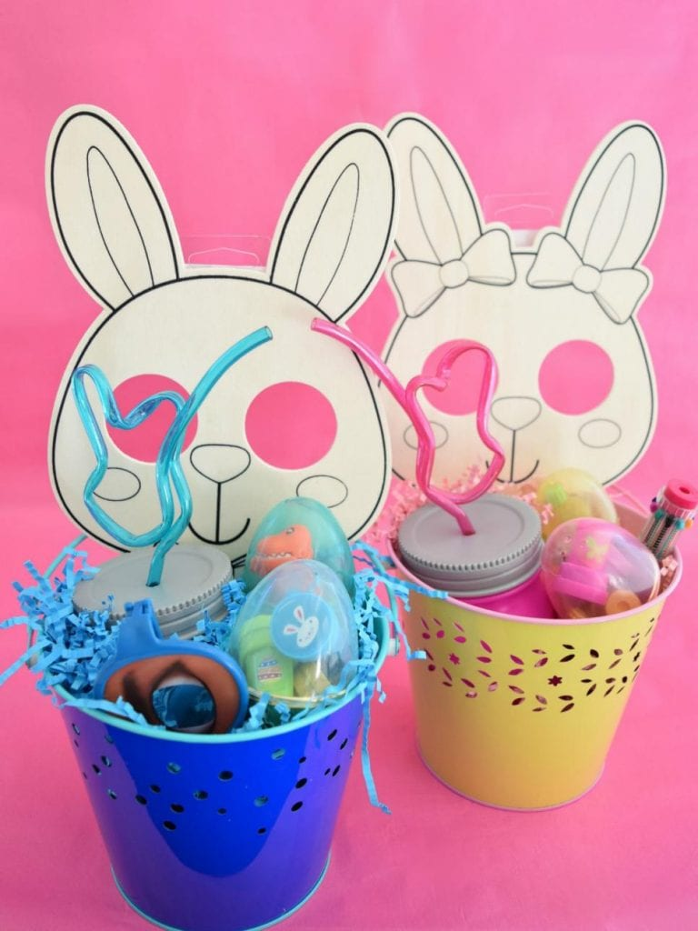 Easter basket ideas for all ages including toddlers - Jennifer Perkins for DIY Network