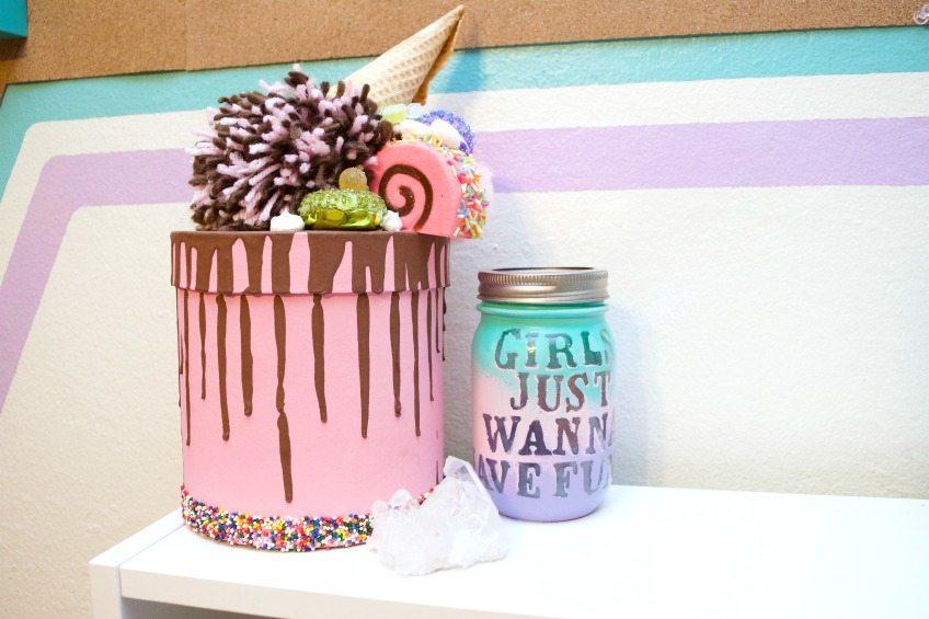 DIY Mason jar bank - Girls Just Wanna Have Funds by Jennifer Perkins