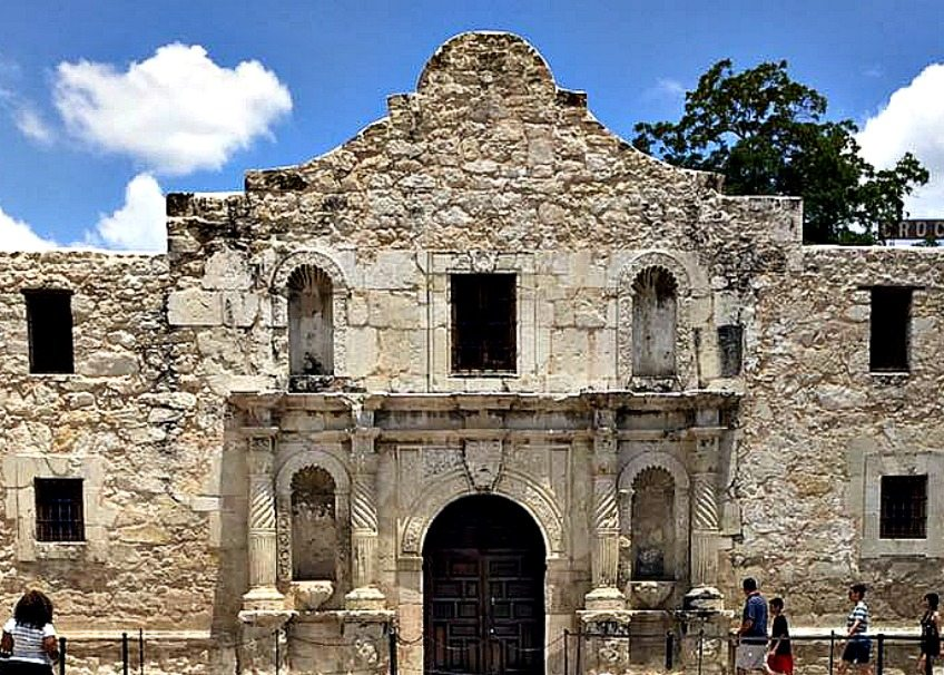 Take the kids to visit The Alamo.