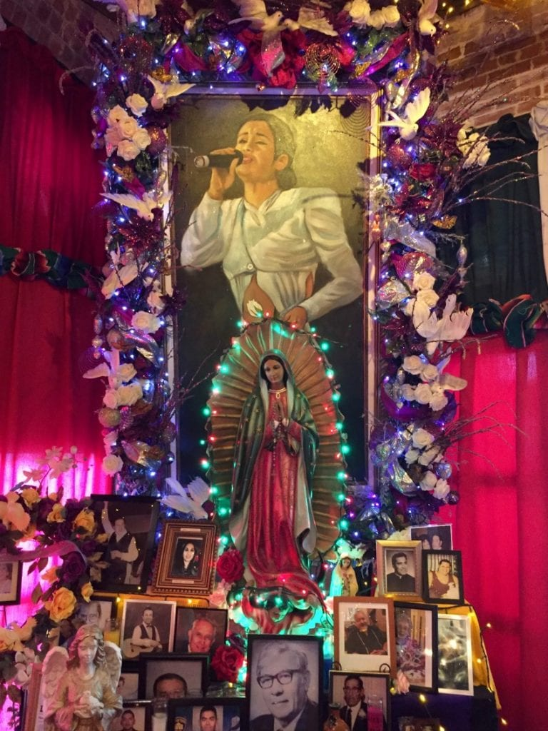 Selena shrine at Mi Tierra in San Antonio, TX.