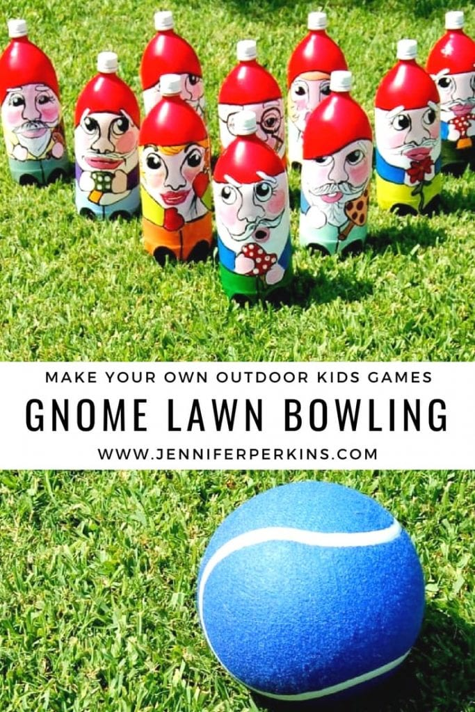 Make Your Own Outdoor Games for Kids With DIY Lawn Bowling