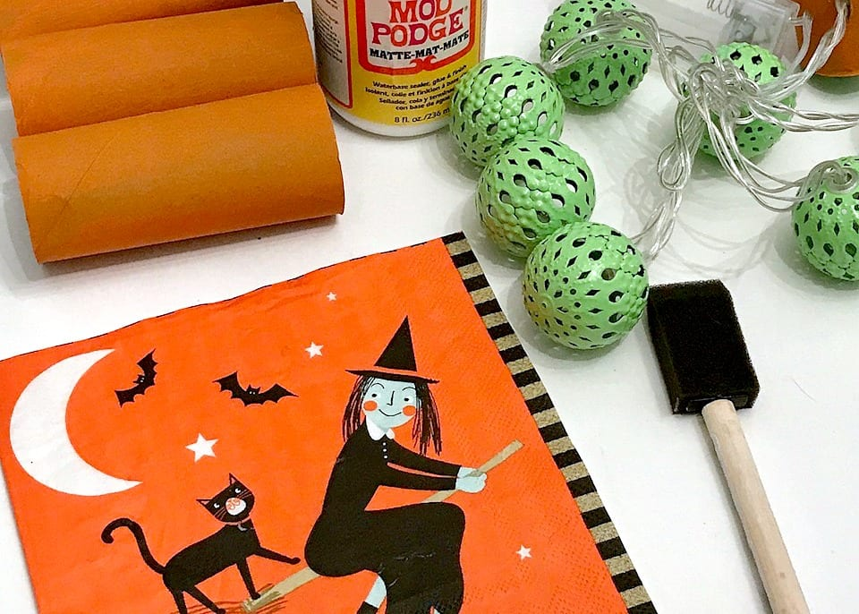 Spooky String Lights Your New Fave Toilet Paper Roll Halloween Craft