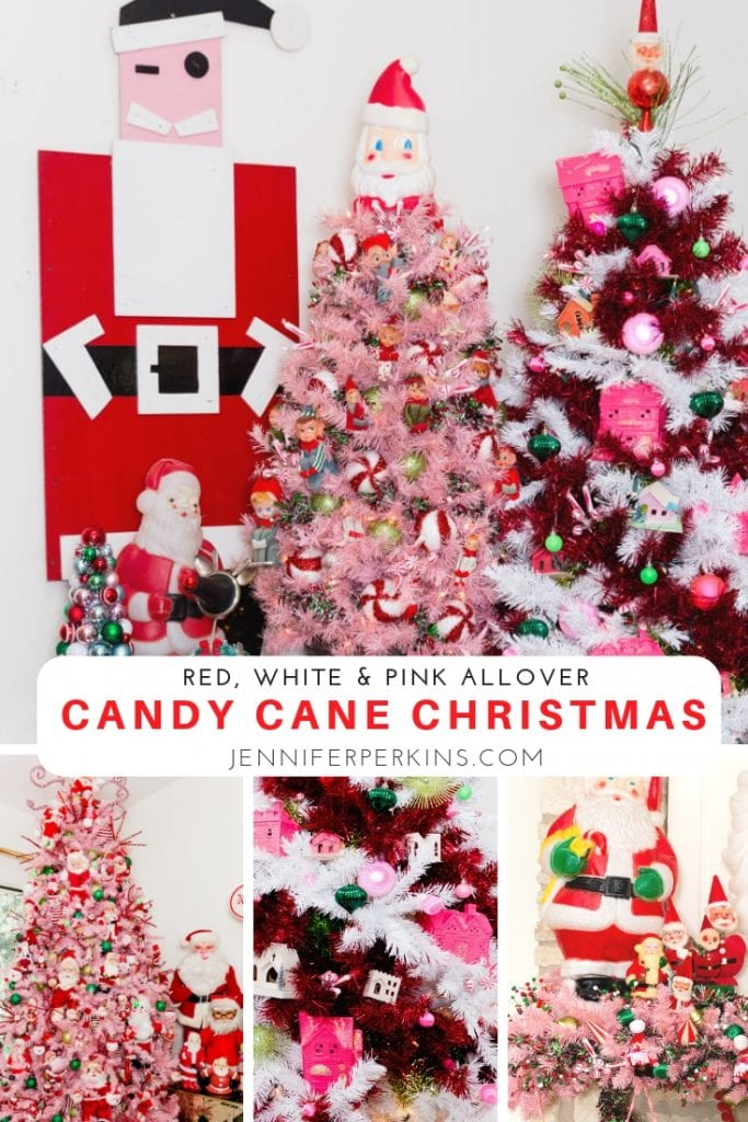 How to Decorate a Candy Cane Christmas Tree with Jennifer Perkins