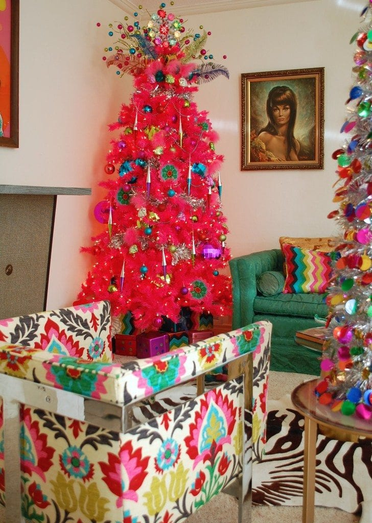 Move Over Green Pink Chrismtas Trees Are Here And Fabulous