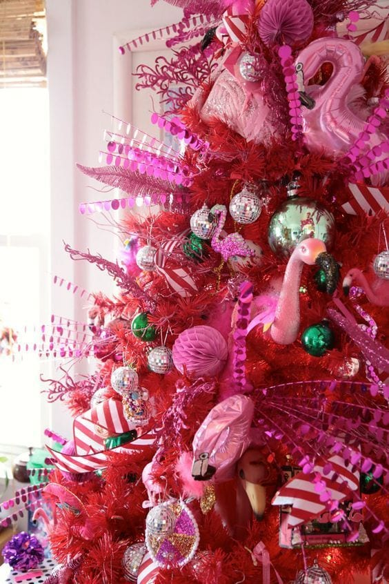 Pink Christmas Tree Pinterest
