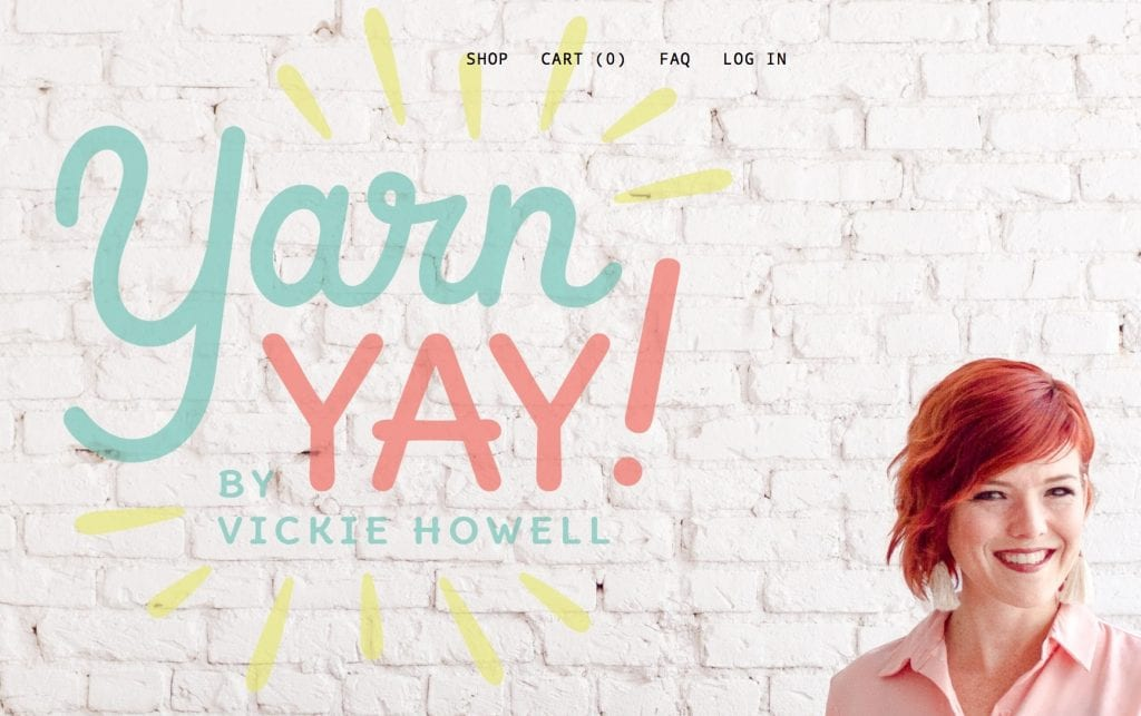 Yarn Yay Subscription kit with Vickie Howell