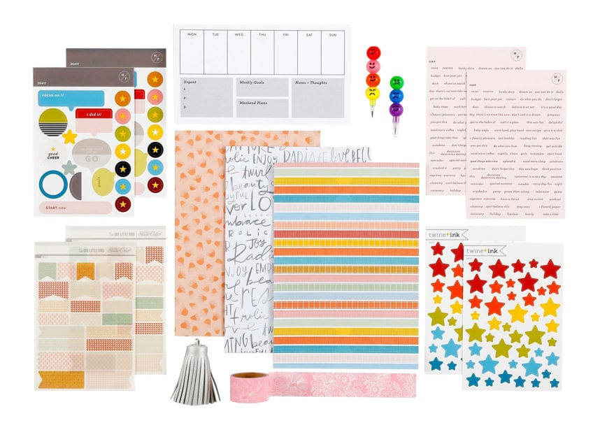 Studio Calico planner kit
