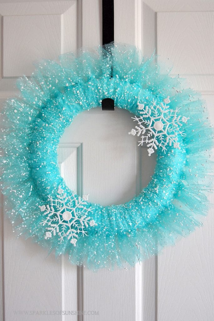 Beautiful-Winter-Wonderland-Wreath - Sparkles of Sunshine