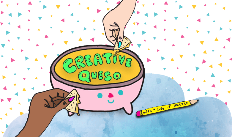 Creative Queso podcast logo