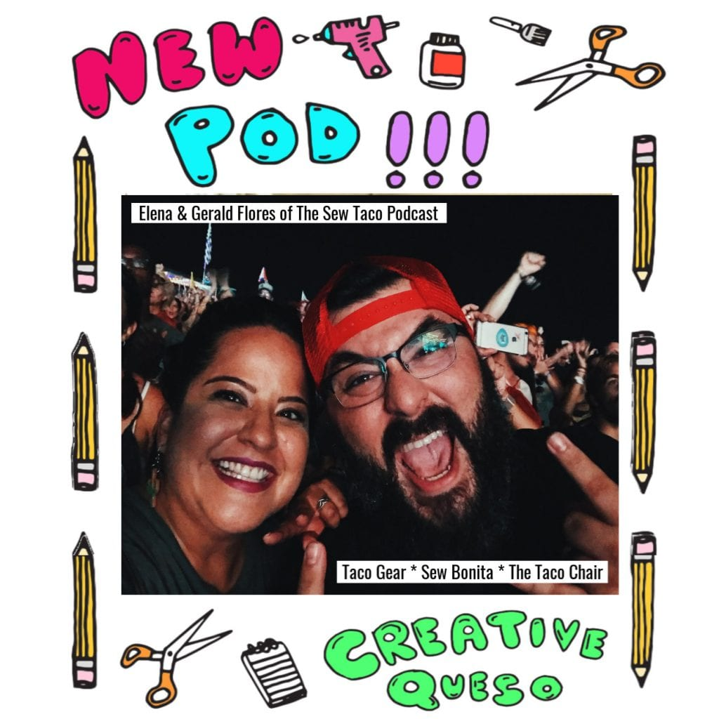 Creative Queso Podcast Guests Sew Taco