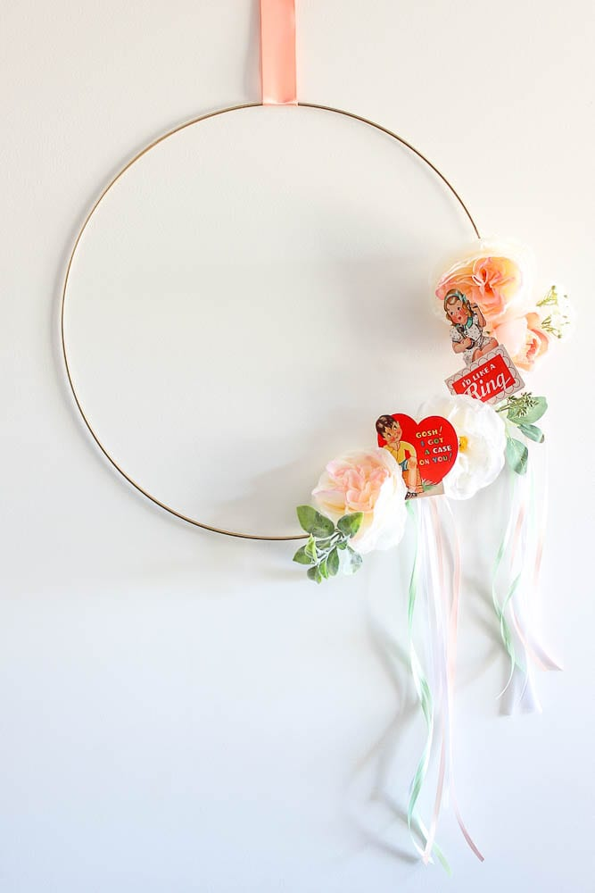 Wreath Ideas for Valentines Day