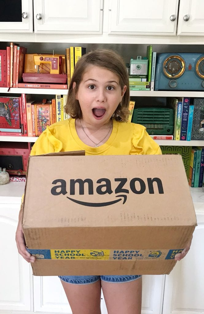 Happy School Year box from Amazon