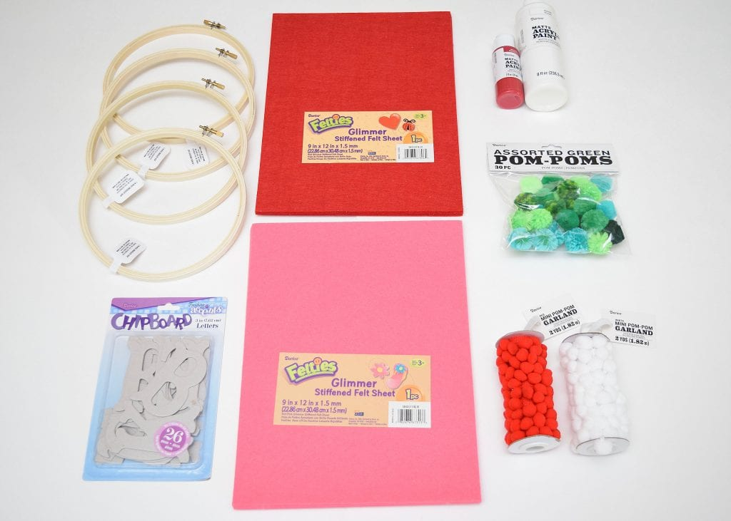 Christmas craft supplies from Darice