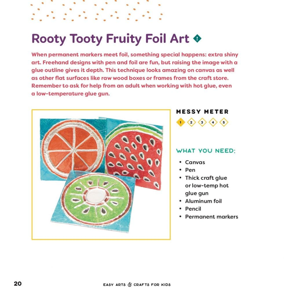 Rooty Tooty Foil Art