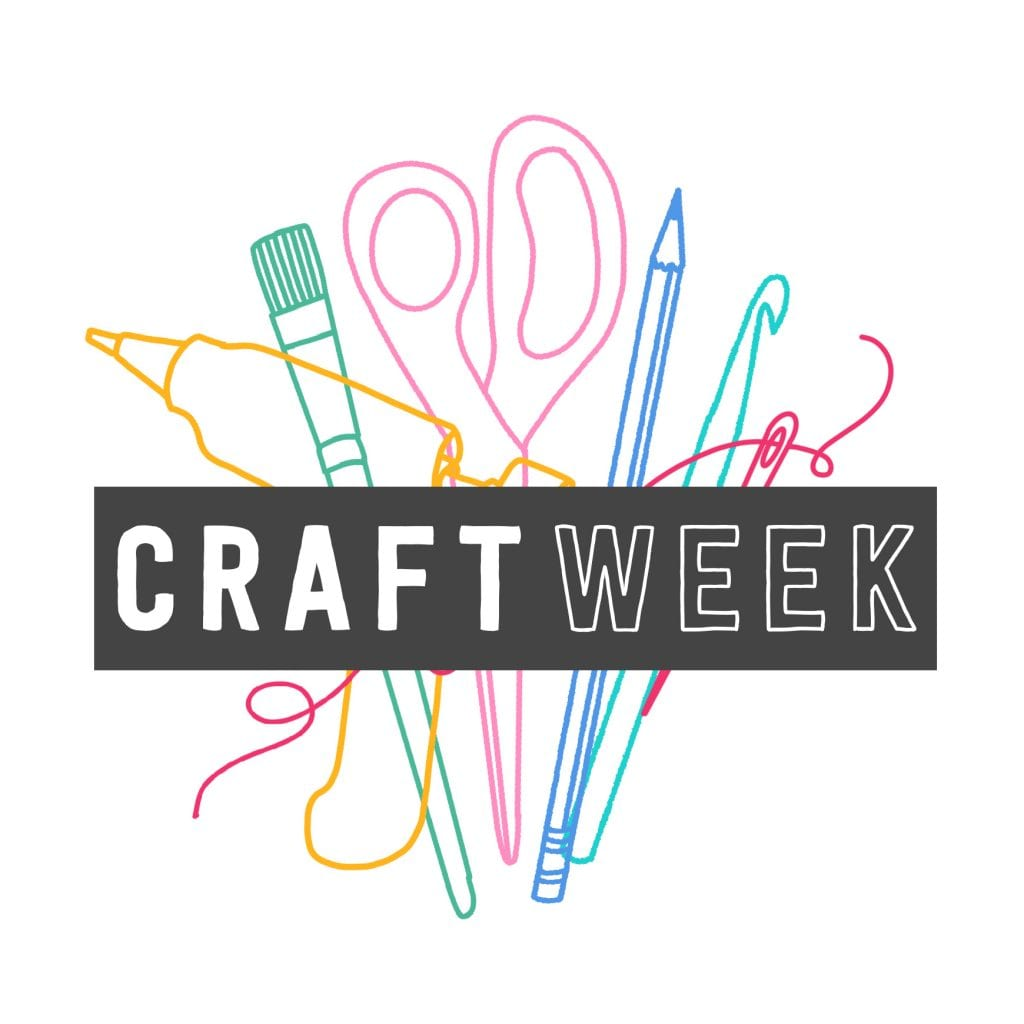 Craft Week a round up of crafty bloggers sharing DIY projects