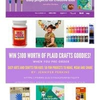 Give away for craft supplies