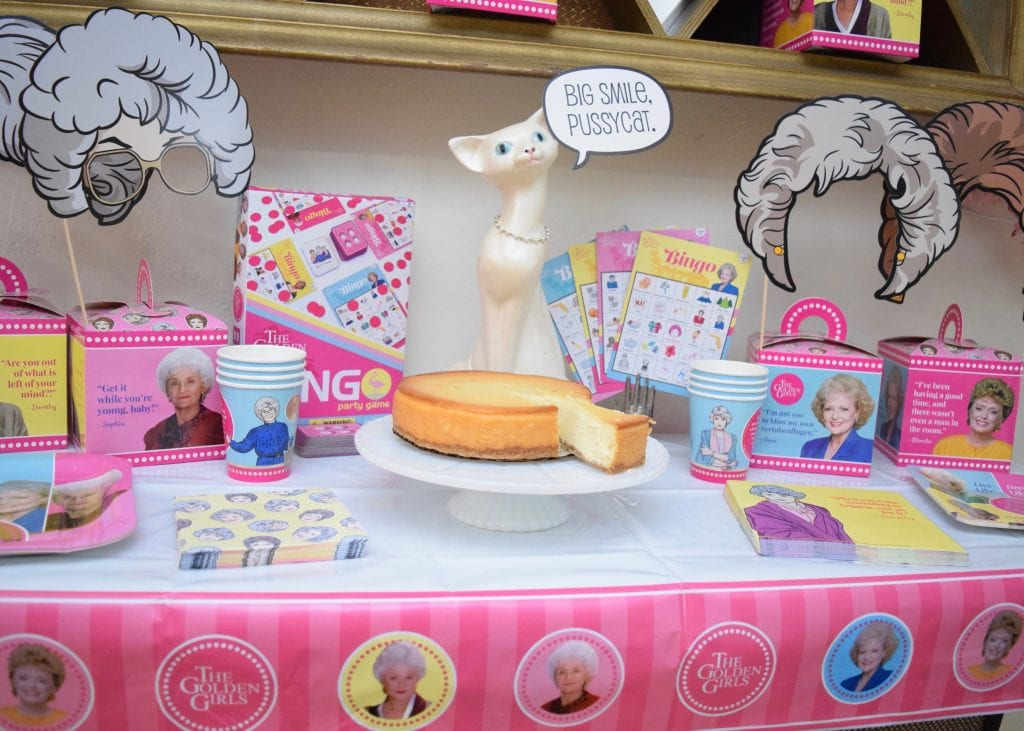 Golden Girls Party with Cheesecake