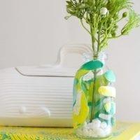 Children's Keepsake Clay Hand Vase